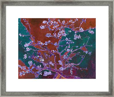 Layered 2 Van Gogh Framed Print by David Bridburg