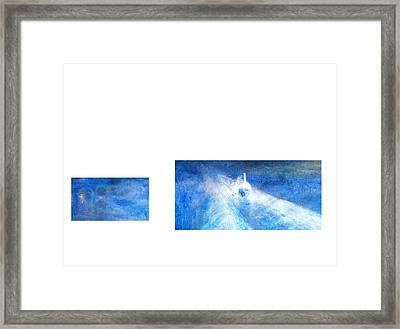 Layered 21 Turner Framed Print by David Bridburg