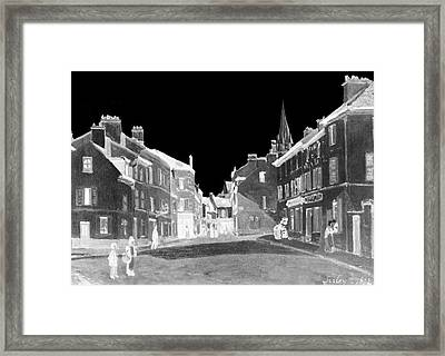 Layered 7 Sisley Framed Print by David Bridburg