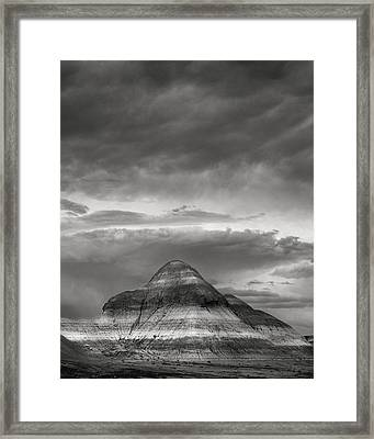 Layered Arizona Framed Print