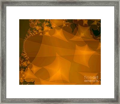 Layered Kite Formations Framed Print by Ron Bissett