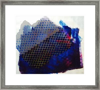 Layered Life Framed Print
