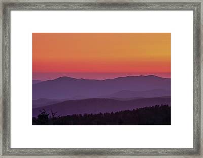Framed Print featuring the photograph Layers 2005 01 by Jim Dollar