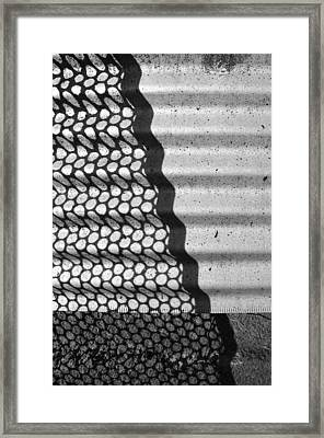 Layers 1 Of 1 Framed Print
