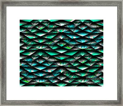 Layers Abstract Framed Print