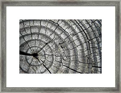 Layers Framed Print by Dan Holm