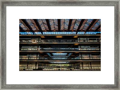 Layers Framed Print by Kristopher Schoenleber