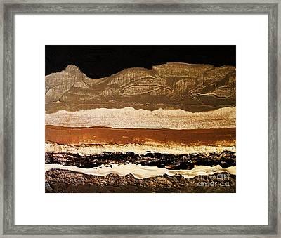 Layers Ll Framed Print by Marsha Heiken