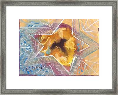 Layers Of A Healer Framed Print