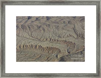 Layers Of Erosion Framed Print by Tim Grams