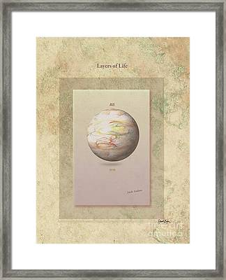 Layers Of Life Framed Print by Jack Eadon