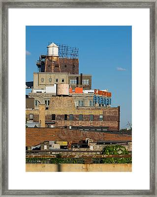 Layers Of Minneapolis Framed Print