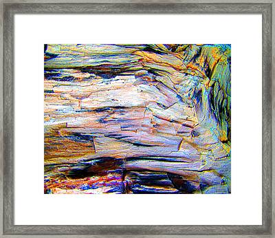 Layers Of Mystery Framed Print by Nicole I Hamilton