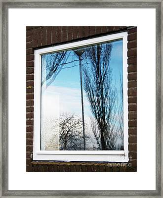 Layers Of Reality Framed Print