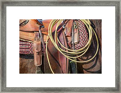Layers Of Tack Framed Print