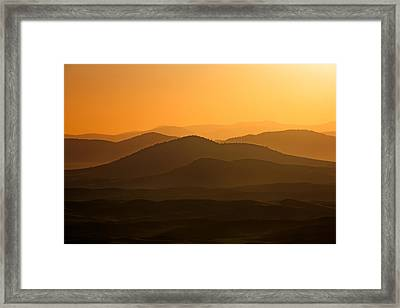 Layers Of The Saint Joes Framed Print by Todd Klassy
