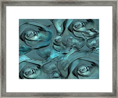 Layers Framed Print