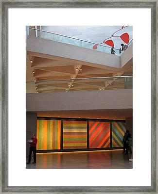 Layers Framed Print by Sean Owens