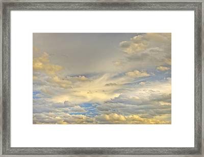 Framed Print featuring the photograph Layers by Wanda Krack