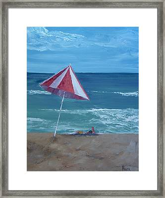 Layin Out Framed Print by Pete Maier