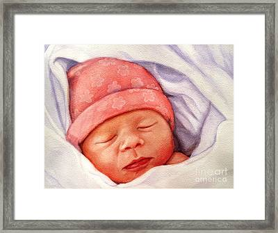 Layla Framed Print by Marilyn Jacobson