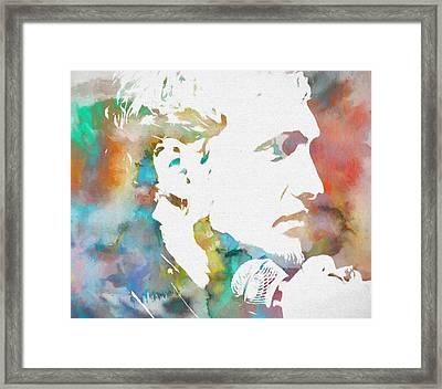 Layne Staley Framed Print by Dan Sproul