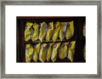 Lays Anyone Framed Print