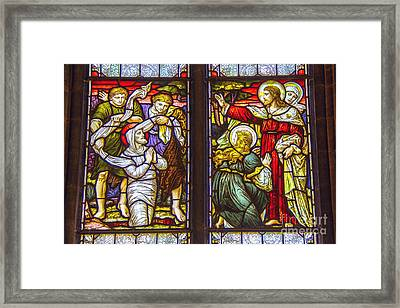 Lazarus Rising Framed Print by Roberta Bragan