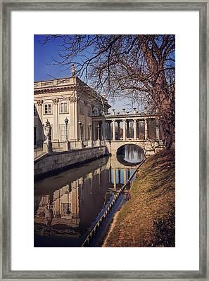 Lazienki Palace Warsaw Framed Print by Carol Japp