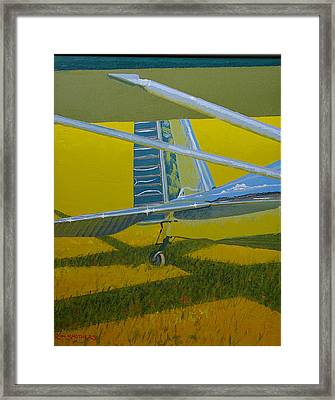 Lazin' Luscombe Framed Print by Ron Smothers