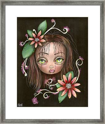 Lazy Eye Framed Print by  Abril Andrade Griffith