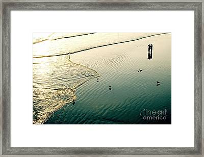 Lazy Tide Framed Print by Viktor Savchenko