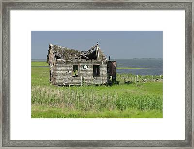 Long Beach Island Crab Shack Framed Print