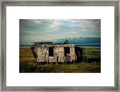 Lbi Shack Framed Print
