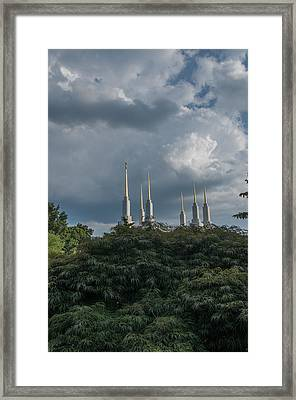 Lds Storm Clouds Framed Print