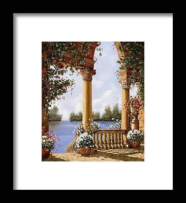 Balustrade Framed Prints