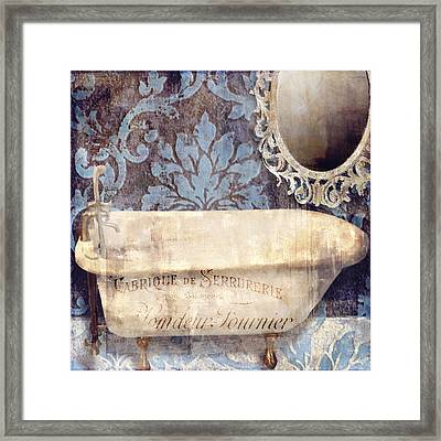 Le Bain Paris Blue Framed Print by Mindy Sommers