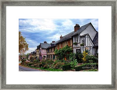 Le Bec Hellouin Framed Print by Olivier Le Queinec