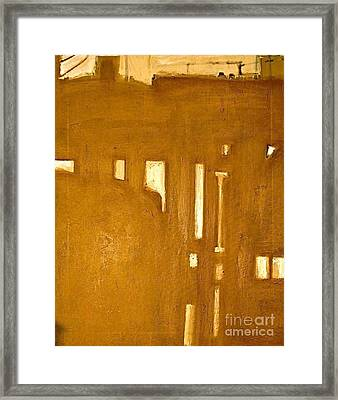 Le Berceau D Industrie  The Cradle Of Industry Framed Print