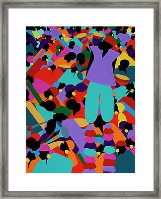 Le Carnaval Framed Print