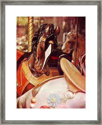Le Carrousel Framed Print by JAMART Photography