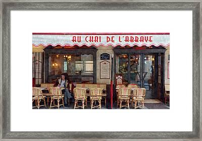 Le Chai Paris  Framed Print