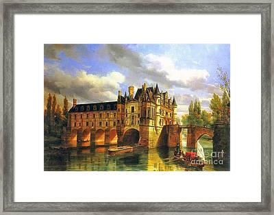 Le Chateau De Chenonceau Framed Print