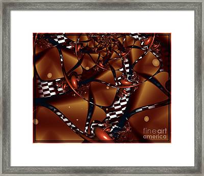 Le Chocolatier Framed Print by Michelle H