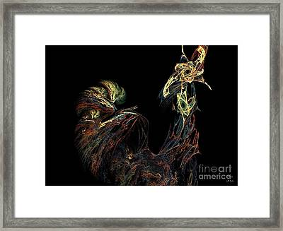 Le Coq Framed Print by Dom Creations