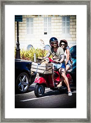 Le Dog Framed Print by Jason Smith