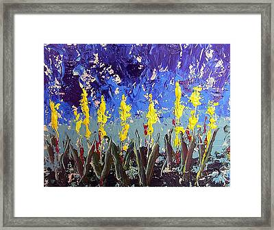 Le Fleur Framed Print by Paul Sandilands