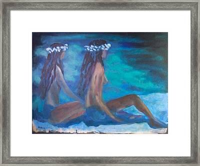 Le Hawaiane  Framed Print