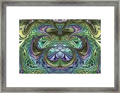 Le Jardin Secret Framed Print