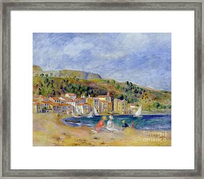 Le Lavandou Framed Print by Pierre Auguste Renoir